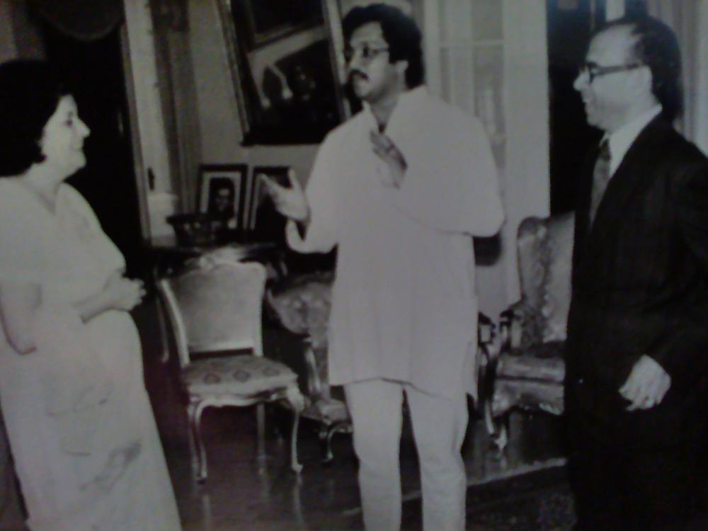 Dr.Esteves with the Governor of Goa